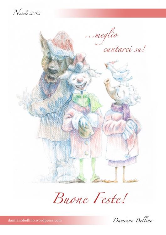Biglietto Natale 2012 s